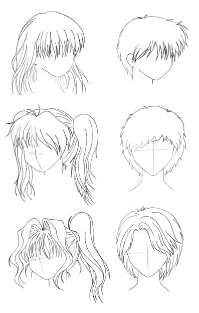 aprende a dibujar anime(simplisimo)